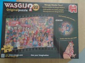 WASGIJ?22 original Puzzle-Studio Tour