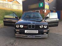 BMW E30 325i ALPINA CABRIOLET CABBY J REG 1 OFF RARE ALPINA SPEC