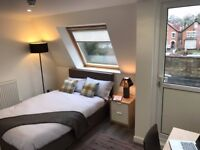 GREAT ensuite room - with private roof-terrace