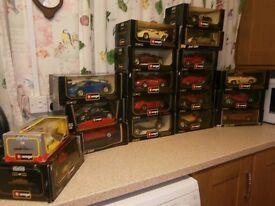 Burago and Mastero cars