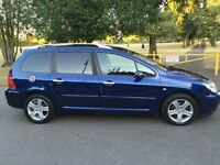 2003 53 plate seven seater Peugeot 307 SW 2.0 HDi FAP SE 5dr (a/c) 7 seater