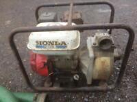 Honda WP20x 4.0HP Water Pump with Pipes