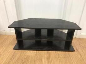 Black ash TV stand