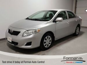 2010 Toyota Corolla CE - New tires   LOW KMs!   Like new conditi