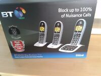 BT 4600 big button phone trio