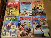 Warlord Comic annuals (Five and one Victor)