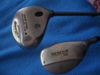 Ladies Youths Rare Callaway Big Bertha Divine 9 Wood or Taylormade 4 Rescue Golf Clubs