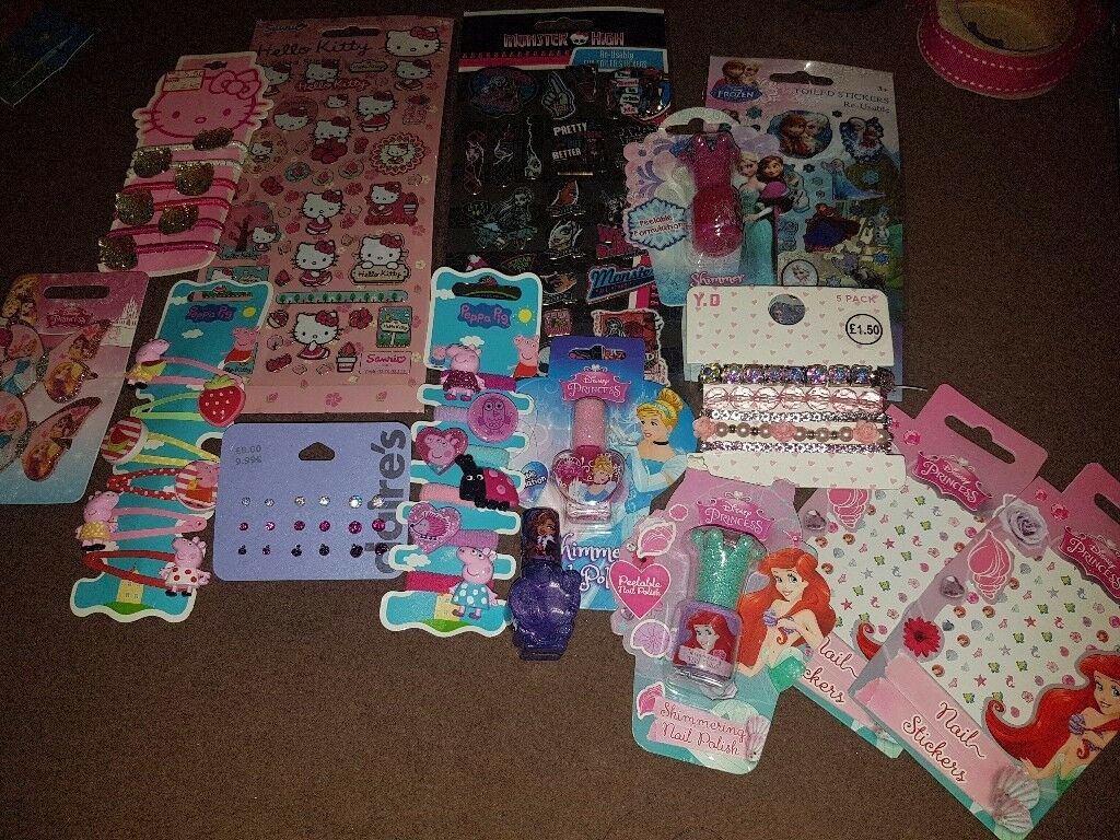 Girls bundle brand new jewellery/hair/stickers etc RRP £45