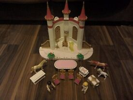 Playmobil fairy castle with accessories