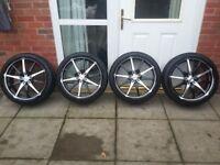 19 inch dotz alloy wheels