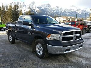 2015 Ram 1500 SXT Hemi Winter Tires Low Kms Great Deal *Canmore