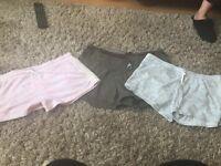 3 pair of primark shorts