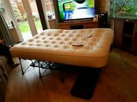Inflatable double ez bed