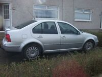 VOLKSWAGEN BORA 2002/ 1.4 PETROL/ 97,000 / price reduced/ need the space