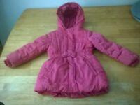 M&S Girls coat 3-4 years