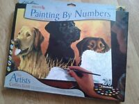 New painting by numbers art set-Labs in marsh