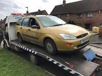 FORD DIESELS WANTED - SCRAP MONDEOS FOCUS FIESTA CMAXX GALAXY ETC CASH WAITING
