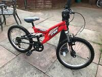 Mountain bike child's full suspension age 6-9 yrs