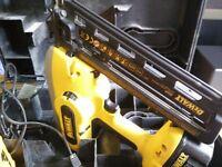 Dewalt DC618 cordless nail gun