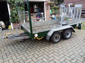 Taylors 3.5tonne twin axle trailer