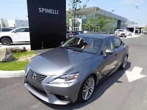 2014 Lexus IS 250 GROUPE LUX GPS-BACKUP CAMERA