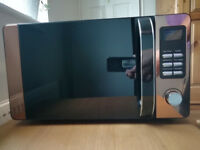 Copper coloured 4 month old Microwave