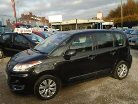 citroen c3 picasso, 1.6 diesel, metallic black, 5 door