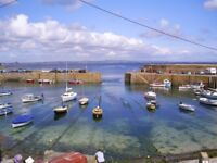 Mousehole Cornwall. Lovely two bedroom cottage only 50 yards from the beach and harbour