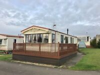 CHEAP STATIC CARAVAN FOR SALE IN AYRSHIRE , SCOTLAND NEAR GLASGOW, LOW SITE FEES & NO AGE LIMIT