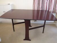 Mahogany gate leg table