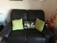 Recliner two seat sofa