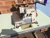 Brother industrial overlocking sewing machine