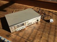 FREE - 1985 SONY TC-K33 tape deck Cassette player