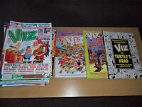 over 30 Viz comic books and three anuals