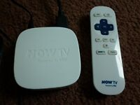 NOW TV BOX IN EXCELLENT BRAND NEW CONDITION