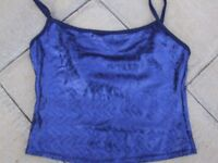 Black holographic Top Size 10 & Blue holographic Top size 12