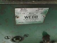 Webb mowers