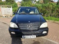 2004 Mercedes-Benz M Class 2.7 ML270 CDI Special Edition 5dr Automatic @7445775115