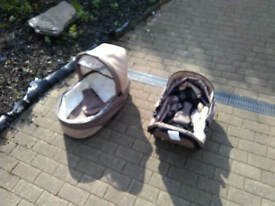 Pram , car seat , carrier , all unused
