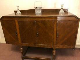 Vintage Sideboard solid oak wood