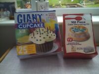 Giant Cupcake Kit and Cake Decorating Kit