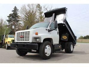 2005 Chevrolet SILVERADO 3500HD Dump Truck, 7.2 L Caterpillar Diesel