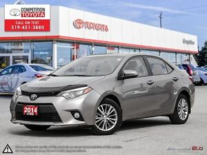 2014 Toyota Corolla LE Toyota Certified, One Owner, No Accide...
