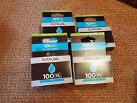 Genuine Lexmark 100XL - Printer Cartridges - Cyan