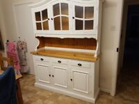 Welsh dresser in good condition 6ft tall 6ft wide
