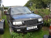 Frontera sport RS DTI Auto For spares or repair