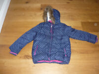 2 John Lewis Padded Girls Coats age 9 and 11