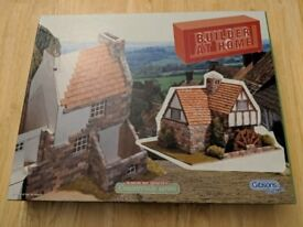 Builder At Home Water Mill from Gibsons Miniature Brick Kit Countryside Series
