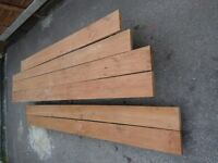 PLANKS OF TEAK TIMBER