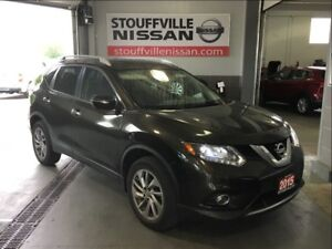 Nissan Rogue sl leather ,navi and sunroof 2015